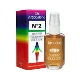 Olio arcobaleno - n.2 arancione - per l'equilibrio del II chakra