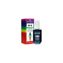 Olio arcobaleno - n.6  indaco - per l'equilibrio del VI chakra