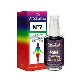 Olio arcobaleno - n.7 porpora - per l'equilibrio del VII chakra