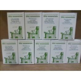 Olio essenziale di citronella Compagnia italiana delle erbe - antizanzare, combatte il mal di testa, 10 ml