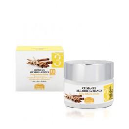 DD Cream Crema viso gel all'Argilla bianca - Linea viso 3 Helan - purificante e protettiva, con filtro solare