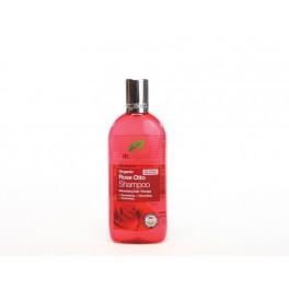 Shampoo volumizzante Rosa Otto, con olio essenziale di rose - dr.Organic