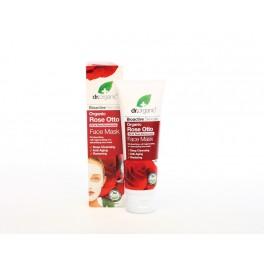 Maschera viso Rosa Otto, Anti-rughe e rigenerante con olio essenziale di rose - dr.Organic