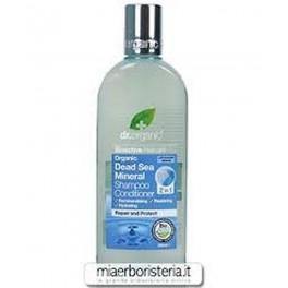 Shampoo e balsamo 2 in1 Sali del Mar Morto - dr.Organic