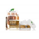 Gel viso Bava di lumaca filtrata  - dr.Organic Snail Gel