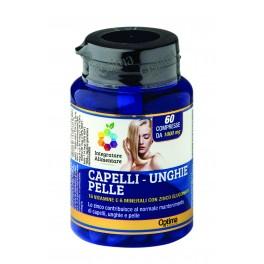 Capelli Unghie Pelle con 16 Vitamine, 6 Minerali e Zinco Gluconato -  Optima Naturals
