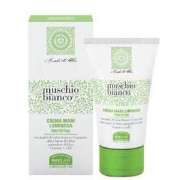 Crema mani Luminosa al Muschio Bianco, schiarente e antiossidante - Helan