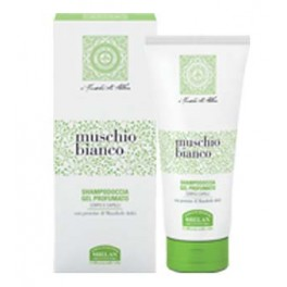Shampoo doccia gel profumato al Muschio Bianco e proteine di Mandorle dolci - Helan