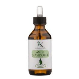 Olio di mandorle dolci vegetale Bio Alkemilla - elasticizzante della pelle, antismagliature, 100 ml