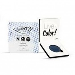 Ombretto compatto shimmer n.07 Blu - puroBIO Cosmetics