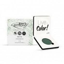 Ombretto compatto mat n.08 Verde Bosco - puroBIO Cosmetics
