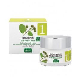 Crema viso giorno DD Cream Riequilibrante con Bardana, Hamamelis e Salvia - Linea viso 1 di Helan
