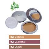 Fondotinta Bio Compatto Panera, I colori di Helan - in crema, con protezione solare SPF 15