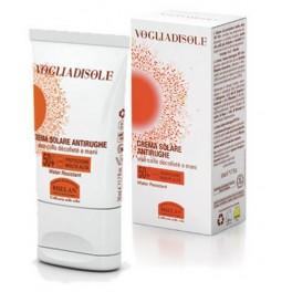 VOGLIADISOLE - Crema solare Antirughe viso, decollètè e mani SPF 50+