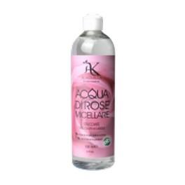 Acqua di Rose Micellare, Struccante viso, occhi e labbra - 500ml - Alkemilla
