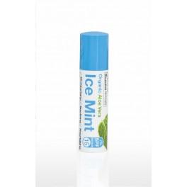 Lip Balm (burro di cacao) all'Aloe Vera e Menta con protezione solare SPF 15 - dr.organic