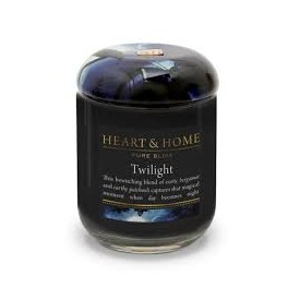Candela in Cera di Soia Twilight LARGE - Heart&Home