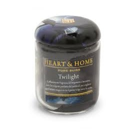 Candela in Cera di Soia Twilight SMALL - Heart&Home