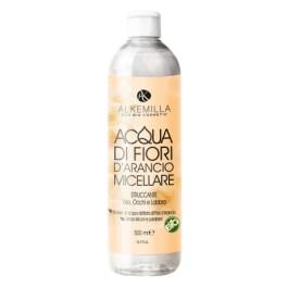 Acqua di Fiori d'Arancio Micellare, Struccante viso, occhi e labbra - 500ml - Alkemilla