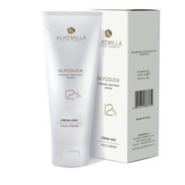 Glycolica Crema viso all'acido Glicolico 12% Alkemilla - Crema iperattiva per protocollo anti-eta' e antimacchia