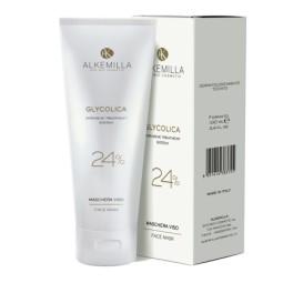Glycolica Maschera viso all'acido Glicolico 24% Alkemilla - maschera in gel iperattiva ad alta concentrazione
