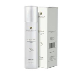 Glycolica Crema viso all'acido Glicolico 3% Alkemilla - Crema iperattiva per protocollo anti-eta' e antimacchia