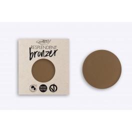 Terra Resplendent Bronzer 01 PuroBio REFILL marrone pallido