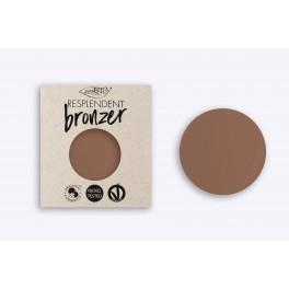 Terra Resplendent Bronzer 03 PuroBio REFILL marrone beige