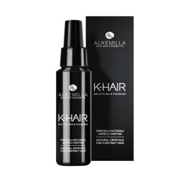 Cristalli naturali capelli Castani K-HAIR - ALKEMILLA