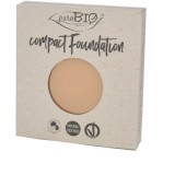 REFILL Fondotinta Compatto 02 PuroBio - Compact Foundation uniformante e matte - nickel tested, vegan e certificato CCPB