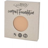 REFILL Fondotinta Compatto 03 PuroBio - Compact Foundation uniformante e matte - nickel tested, vegan e certificato CCPB
