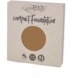 REFILL Fondotinta Compatto 06 PuroBio - Compact Foundation uniformante e matte - nickel tested, vegan e certificato CCPB
