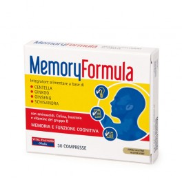 Memory Formula 30cpr Cefalea e Memoria - Vital Factors
