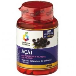 Integratore di Bacche di  ACAI accelleratore di metabolismo - Optima 60 cps