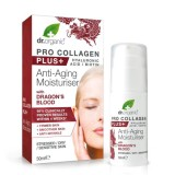 Crema viso idratante antirughe con Acido jaluronico, Biotina, Sangue di Drago - Pro Collagen Plus+ con Dragon's Blood