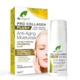 Crema viso idratante antirughe con Acido jaluronico, Biotina, Probiotici - Pro Collagen Plus+ con MILK PROTEIN PROBIOTICS 50ml