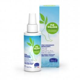 PIE VELOCE Spray Deodorante rinfrescante piedi 100ml