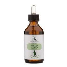 Olio di lino vegetale Bio Alkemilla - ristrutturante ed idrante per pelle e capelli, 100 ml