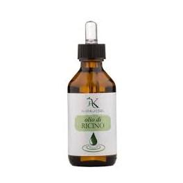 Olio vegetale Bio di Ricino Alkemilla - rinforzante per ciglia, capelli e unghie, 100 ml