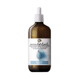 Mandorloil Muschio Bianco - Olio di Mandorle Bio Profumato con Olio Biologico di Sesamo e Girasole - Alkemilla 100ml
