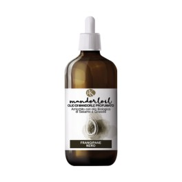 Mandorloil Frangipane Nero - Olio di Mandorle Bio Profumato con Olio Biologico di Sesamo e Girasole - Alkemilla 100ml