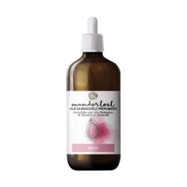 Mandorloil Rosa - Olio di Mandorle Bio Profumato con Olio Biologico di Sesamo e Girasole - Alkemilla 100ml