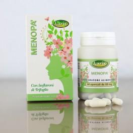Menopa' Larix - contrasta i disturbi della menopausa, con trifoglio, cicimifuga e passiflora, 60 opercoli