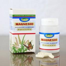 Magnesio Marino Larix - (magnesio cloruro + magnesio solfato), 60 opercoli - 500mg