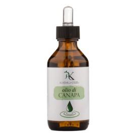 Olio vegetale Bio di canapa Alkemilla - emolliente, contro arrossamenti, irritazioni ed infiammazioni, disidratazione, 100 ml