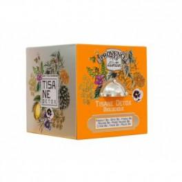 Tisana Mon Casier Cube - Tisana detox bio - Provence d'antan