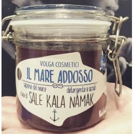 Detergente e Scrub Corpo Il Mare Addosso al Sale Kala Namak - Volga cosmetici