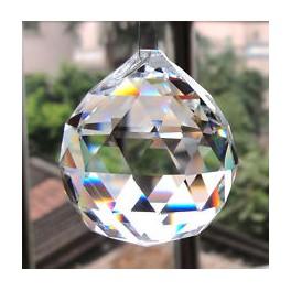 Sun catcher cristallo di luce sfera grande - Bio Luce