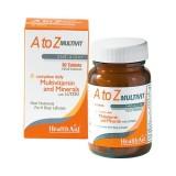 Multivit A-Z active - Multivitaminico Vegan - HEALTH AID