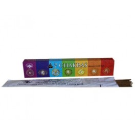 Bastoncini Incenso 7 (sette) chakra - Green Tree Candle Company - Bio Luce